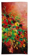 Bunch Of Flowers 0507 Beach Towel