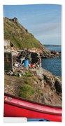 Bunty In Priest's Cove Cape Cornwall Beach Towel