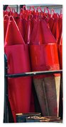 Buoys For The Mississippi Beach Towel