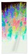 Burst Of Color Beach Towel