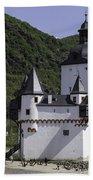 Burg Pfalzgrafenstein Beach Towel