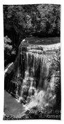 Burgess Lower Falls 2 Beach Towel