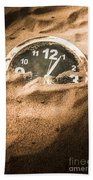 Buried In The Sands Of Time Beach Towel