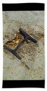 Buried Metal 3 Beach Towel