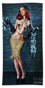 Burlesque Lady - Fine Art Of Bondage Beach Towel