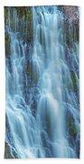 Burney Falls Detail Beach Towel