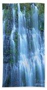 Burney Falls Mist Mcarthur Burney Sp California  Beach Towel