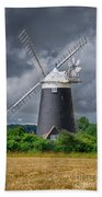 Burnham Overy Mill Beach Towel