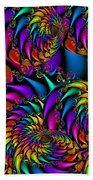 Burning Embers Beach Towel