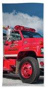 Burnington Iolta Fire Rescue - Tanker Engine 1550, North Carolina Beach Towel