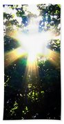 Burst Of Sunlight Beach Towel
