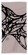 Bushal Of Thorns Beach Towel