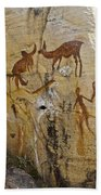Bushman Painting Beach Towel