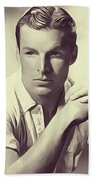 Buster Crabbe, Vintage Actor Beach Towel