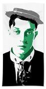 Buster Keaton Beach Towel