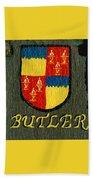 Butler Family Shield Beach Towel
