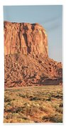 Butte, Monument Valley, Utah Beach Towel