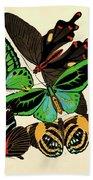 Butterflies, Plate-1 Beach Towel