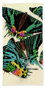 Butterflies, Plate-7 Beach Towel