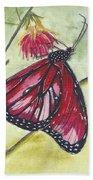 Butterfly 12 Beach Towel