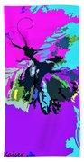 Butterfly Art By Lisa Kaiser Beach Towel