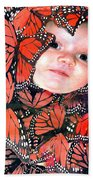 Butterfly Baby Beach Towel