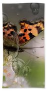 Butterfly Bubbles Beach Towel