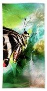 Butterfly Daydream Beach Towel