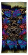 Butterfly Effect 2  Beach Towel