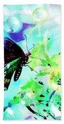 Butterfly Fantasty Beach Towel