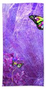 Butterfly Fantasy Beach Towel