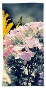 Butterfly Garden Beach Towel