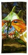 Butterfly Horse Ocala Florida Beach Towel