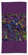Butterfly Impressions Beach Towel