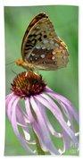 Butterfly In The Wind Beach Towel