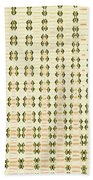 Butterfly Multiplication Abstract, Beach Towel