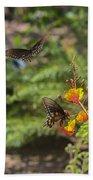 Butterfly Pas De Deux Beach Towel