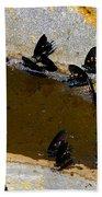 Butterfly Pool Beach Towel