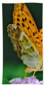 Butterfly Pose Beach Towel