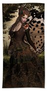 Butterfly Princess Of The Forest Beach Towel