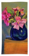 Butterfly Roses Beach Towel