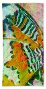 Butterfly Spirit Beach Towel