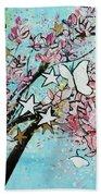 Butterfly Star Magnolia Soulangeana 201825 Beach Towel