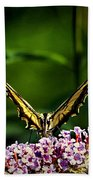 Butterfly Victory Beach Towel