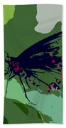 Butterfly Work Number Ten Beach Towel
