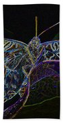 Butterfly Work Rws Number 6 Beach Towel