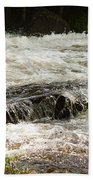 Buttermilk Falls Bubbles Beach Towel