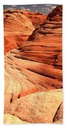 Buttes And Checkerboards Beach Towel