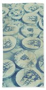 Button Seas Beach Towel