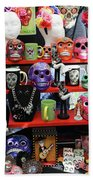 Buy From Me Day Of The Dead  Beach Towel